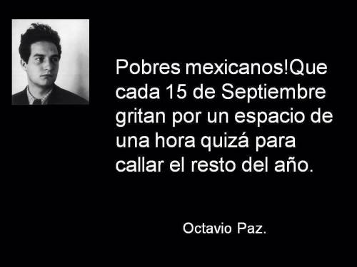 Octavio Paz frase