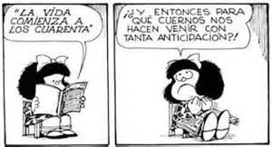 0 CFvR Mafalda la vida comienza a los cuarenta